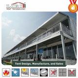 15 het a-kader van de meter Dubbel Dek Twee de Structuur van de Tent van de Markttent van Verhalen voor VIP Zitkamer