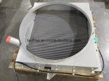 De Plaat van het aluminium en de Koeler van de Olie van het Water van de Staaf voor de Machines van de Bouw van de Spoorweg