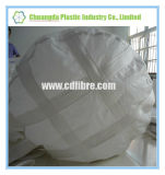白く大きい袋の底上昇の円形のバルク袋はとのベルトを補強する