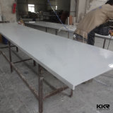Le blanc de la pierre artificielle Surface solide des comptoirs de cuisine en marbre (C1705267)