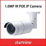 1.0MP Poe Waterdichte IRL IP van het Netwerk van de Veiligheid van kabeltelevisie van de Kogel Camera (WH6)