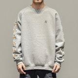 로고 인쇄를 가진 주문 상표 남자 스웨터 스웨트 셔츠