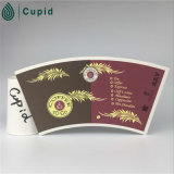 020016 Hztl Hongtai Cup Imprimir vaso de papel recubierto de ventilador de PE