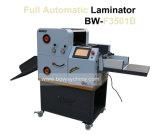 máquina que lamina de 2 caras del tamaño del papel de 350m m A3 A4 por completo de rodillo de la película de la foto del laminador caliente automático de la laminación
