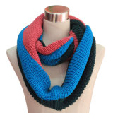 Infinity Scarf (YKY4196-1) de mode de Madame Acrylic Knitted