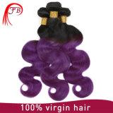Barzilian Menschenhaar-Karosserien-Wellen-Produkte Omber Haar 100%