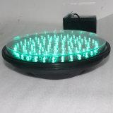 les lampes de signal led verte de 300mm imperméabilisent le feu de signalisation de DEL