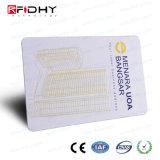 無光沢の終わりF08+UHF RFIDはカード頻度二倍になる
