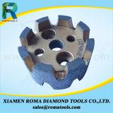 Romatools에서 CNC 그루터기를 뽑는 바퀴를 위한 다이아몬드 맷돌로 가는 공구