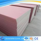 Пожаробезопасная доска гипса/розовые доска гипса цвета/Plasterboard