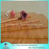 Cubierta de bambú de una sola capa vertical de bambú de la tarjeta de corte para el rectángulo