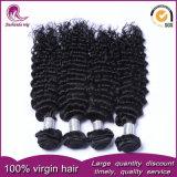 Необработанные Китайский Virgin волосы вьются 100% Реми волос человека