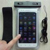 Ipx8首ストラップの腕章PVC防水スマートな電話箱(YKY7257)