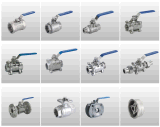 Kugelventil der Edelstahl-Gussteil-Karosserien-1PC für Wasser