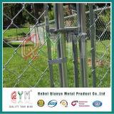 Usado PVC cerca metálica de diamante e portões o fabricante do sistema