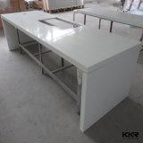 Kingkonree Pierre artificielle Surface solide cuisine toilettes haut de page