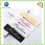 Rótula de vestuário de vestuário personalizada para o rótulo de dobra de alça de tecido de Zumba Wear (JP-CL097)