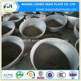 Protezioni di estremità servite testa di emisfero del acciaio al carbonio per le caldaie