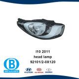 ヒュンダイのためのヘッドライト92101-0X120 92102-0X120 I 10 2011年