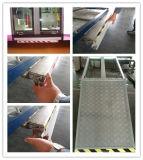 La rampa plegable manual del sillón de ruedas puede cargar 350kg para el omnibus con el certificado del CE
