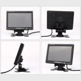 Caja profesional del metal de la mejor calidad monitor de la pantalla táctil de 7 pulgadas