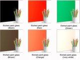 Vidro geado decorativo da alta qualidade 3mm de várias cores