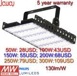 500W 400W 300W 250W 200W 100W 50W 130lm/W Outdoor Stadium IP65 LED Tunnel Flood Light