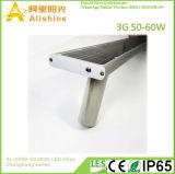 50W integriert/alle in einem Solar-LED-Straßenlaternemit Fernsteuerungs