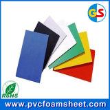 Желтый/красный/голубой лист пены PVC