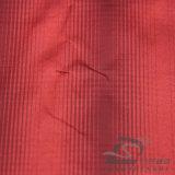 50d 290t 물 & 바람 저항하는 아래로 형식 재킷 재킷에 의하여 길쌈되는 격자 무늬 자카드 직물 100%년 폴리에스테 양이온 털실 필라멘트 직물 (X030)