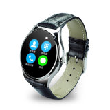 Montre intelligente de Bluetooth 4.0 ultra minces de modèle avec le moniteur du rythme cardiaque (K78H)