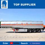 Hete Verkoop van de Aanhangwagens van de Olietanker van de As van de Aanhangwagen van de Tank van de Brandstof van het Koolstofstaal van de titaan De Semi For3