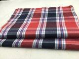 100%Fios de algodão tecido tingidos