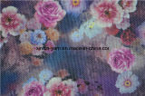 El lino colorido del poliester adornó la tela modificada para requisitos particulares del sofá de las almohadillas