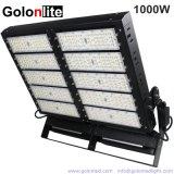 Der Stromversorgungen-1000W hohe Sport-Bereich-Beleuchtung Mast-Stadion-Flut-des Licht-LED
