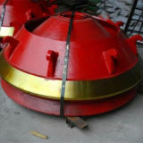 Fodera della ciotola dei pezzi di ricambio del frantoio del cono del pezzo fuso di HP400 HP800