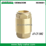 Brass Stick (AV-CV-5011)와 질 Forging Brass Spring Check Valve