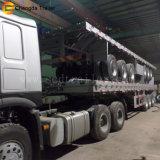 3 nuove vendite a base piatta di prezzi bassi del rimorchio del contenitore di carico dell'asse 20feett 40feet 40tons