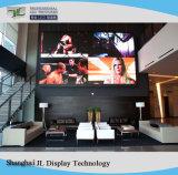 P2.5 interiores de alta definición LED de color de la pantalla del reproductor de publicidad