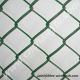 美しい塀によって使用されるチェーン・リンクの網