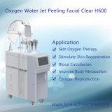 Peladura facial del jet de agua de la máquina/del oxígeno de Dermabrasion del agua