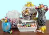 Le plastique acrylique de haute qualité Candy Bocal avec couvercle
