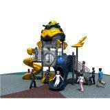 Im Freienspielplatz des Roboter-Themas für Kind-Vergnügungsparks