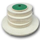 Fornire la rotella di lucidatura delle lane della Cina del feltro della falda abrasiva commerciale del bordo da Factory