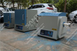 forni a camera 1600c con il tubo dell'allumina del diametro di 80mm (zona di riscaldamento di 300mm) & le flange di vuoto