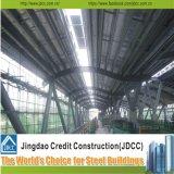 강철 구조물 트레인 Stationn Prefabricated 가벼운 건물