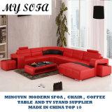 Comércio por grosso sofá de couro provenientes da China