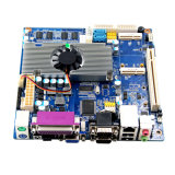 Placa embutida PC PC Fanless 12V DC com DDR3 a bordo 2 GB de RAM