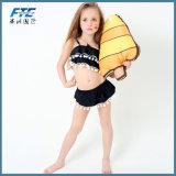 As meninas novas pretas/biquini cor-de-rosa do bebê bonito Condole Belt+Skirt