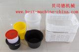 Moulage par injection en plastique de position de peinture de niveau élevé effectuant la machine